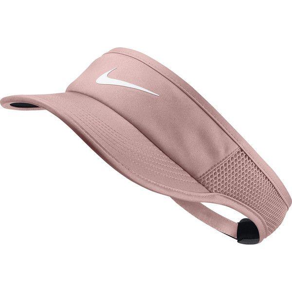 Nike Solid Visor ($24) ❤ liked on Polyvore featuring accessories, sun visor, nike and nike sun visor
