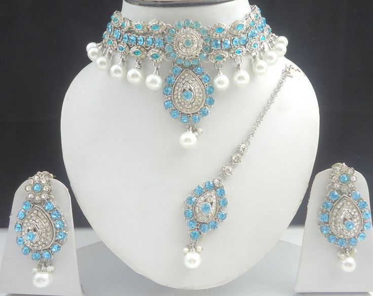 Designer Bollywood Silver. Tone Jewelry. We can work on that designs and bring them for you. Your all thoughts and. Note: We do not accept cash foreign currency or personal checks. | eBay!