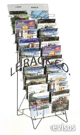 MUY BONITOS EXHIBIDORES DE METAL  FABRICACION DE EXHIBIDORES  Le rack es una  empresa que se dedica a la fabricación  de gran ...  http://alvaro-obregon.evisos.com.mx/muy-bonitos-exhibidores-de-metal-id-614185