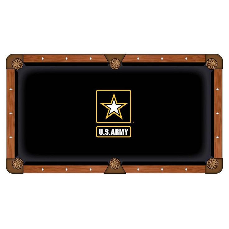 Army Black Knights Pool Table Cloth