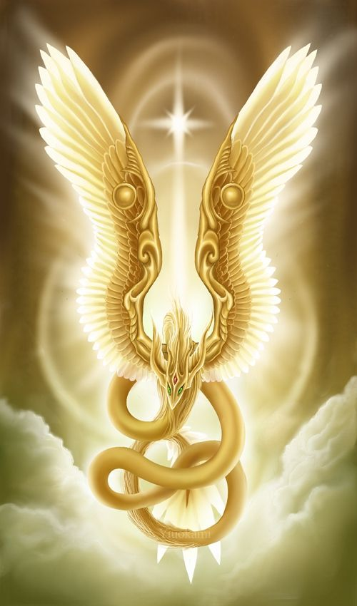 Golden Dragon/Gold Dragon III. - Sacred Parasite - by: Yiuokami on DeviantArt