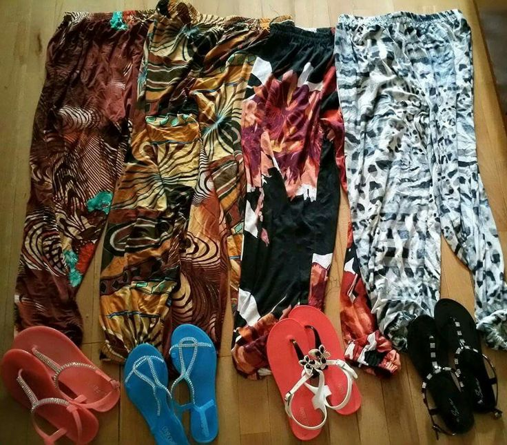 Summer harem pants