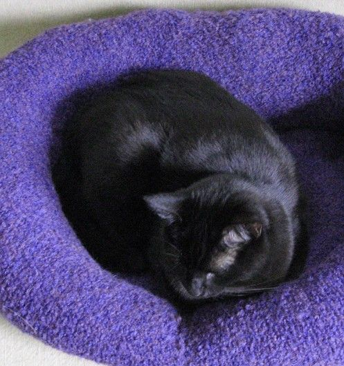 Love this! Do you have an old sweater that you can't use anymore but would make a great lovey for your furry friend? Check out this fabulous Sweater Pet Bed Tutorial...