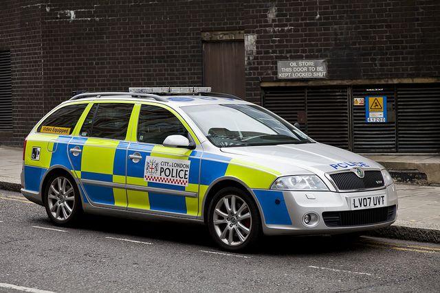 City of London Police Skoda Octavia Estate Car by 5DII, via Flickr