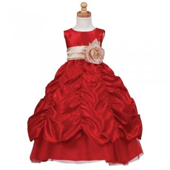 I explored toddler Christmas dress. Who the hell is putting kids in this stuff? Awful. I bet your two year old won't spill on that disaster.  Red Champagne Sash Christmas Dress Toddler Little Girls 2T-12