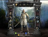 """Check out this @Behance project: """"The Lord of the Rings - War in the North Game UI"""" https://www.behance.net/gallery/2828697/The-Lord-of-the-Rings-War-in-the-North-Game-UI"""