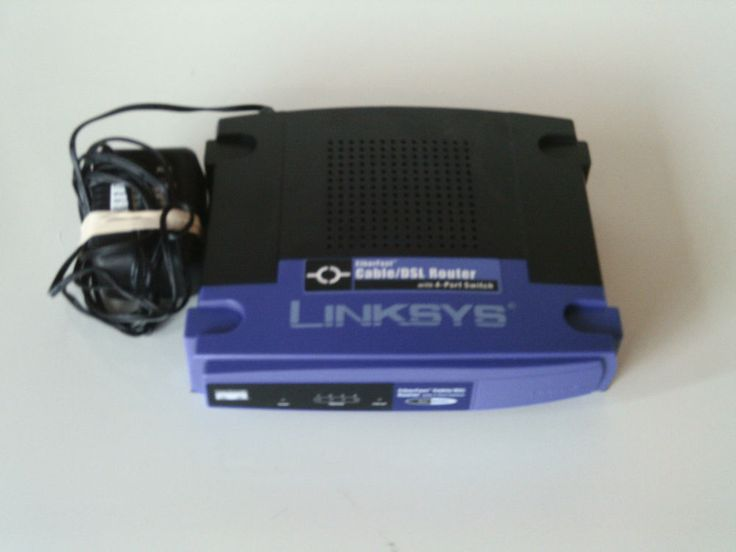 Linksys Etherfast 4-Port Cable DSL Router with 4-Port Switch ver4.2 #Linksys