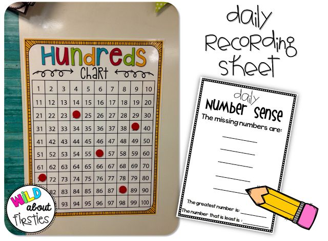 Daily Number Sense Activity. Great top of the morning activity. Change to a 120 chart for Common Core.
