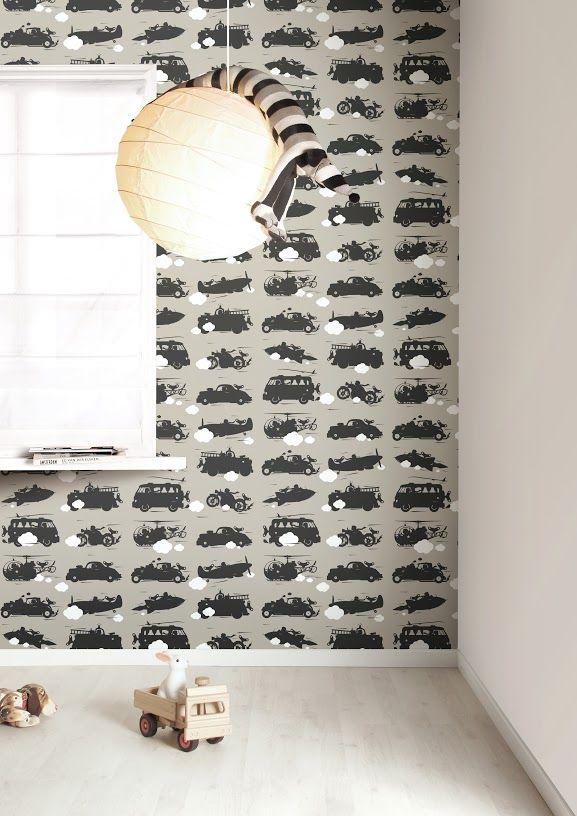 Wallpaper for a boys room | KEK Amsterdam