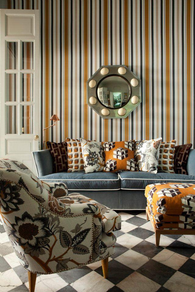 VINTAGE & CHIC: decoración vintage para tu casa [] vintage home decor: Lorenzo Castillo & Gastón y Daniela