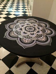 Flower of Life Sacred Geometry Mandala by CreativeStencils on Etsy
