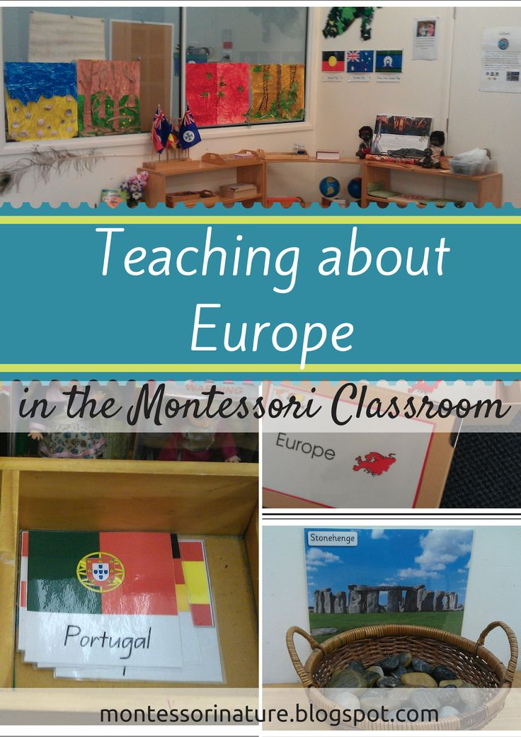 Montessori Nature: Teaching about Europe in the Montessori Classroom. England info