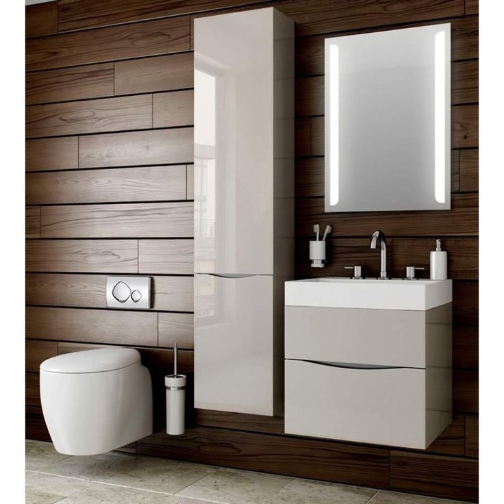 contemporary bathroom ideas bauhaus glide ii 70 wall hung vanity unit with basin