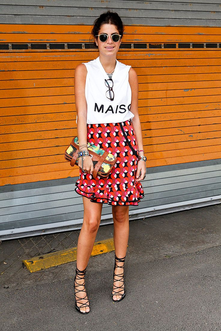 Moda en la calle street style inspiracion verano 2013:
