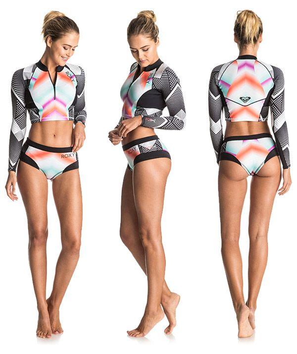 Roxy Pop Surf wetsuit jacket