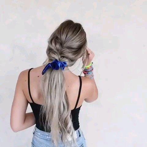 Video tutorial de peinado largo