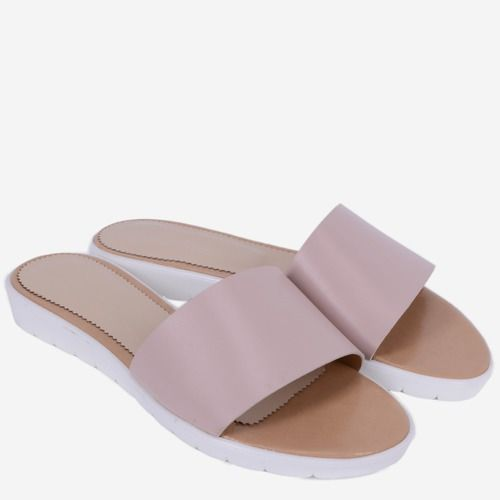 Sandale roz din piele naturala Casilda