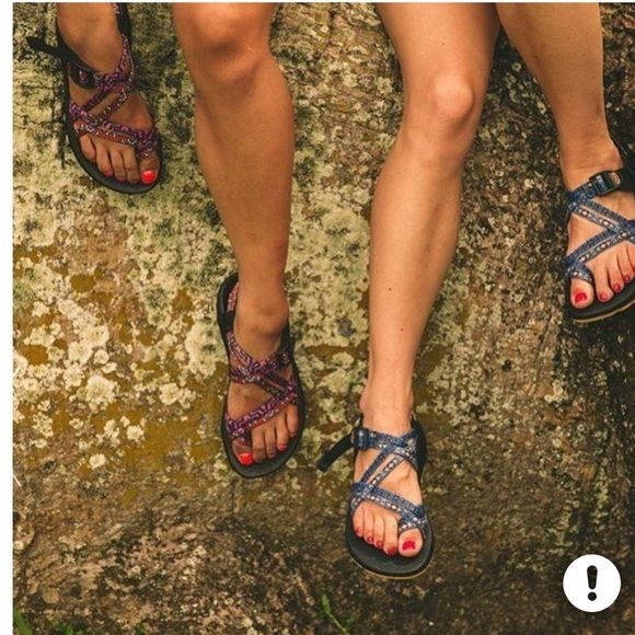 In search of!! Looking for decently cheap Chacos! I'm looking for ones with toe straps as pictured preferably without the back strap but I can settle. I'm a size 7. Please let me know!! ❤️ Chacos Shoes Sandals