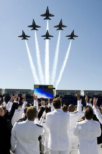 U.S. Naval Academy Graduation in Annapolis, Maryland
