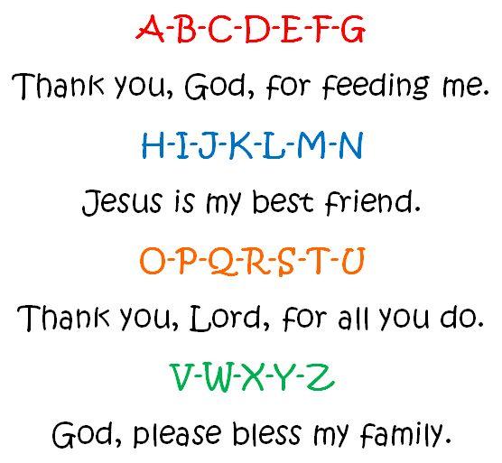Image result for preschool prayer