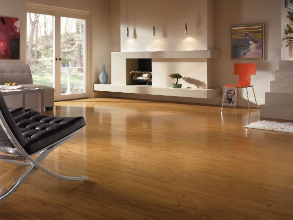 Love How Open This Living Space Is! Laminate Floors By Armstrong.