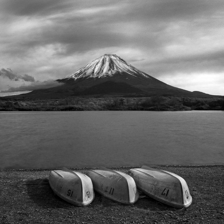 Japanese Black And White Landscape Photography