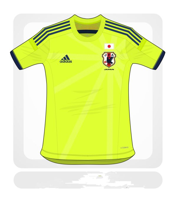 Japan World Cup 2014 Away Football Shirt Design Leaked