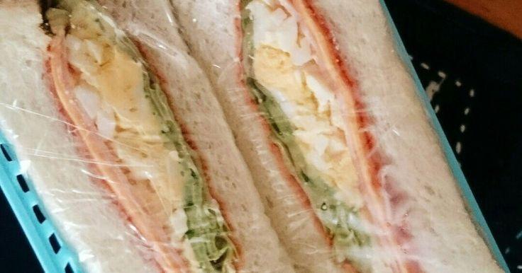 食パンサンドイッチ by ユメにゃん [クックパッド] 簡単おいしいみんなのレシピが273万品
