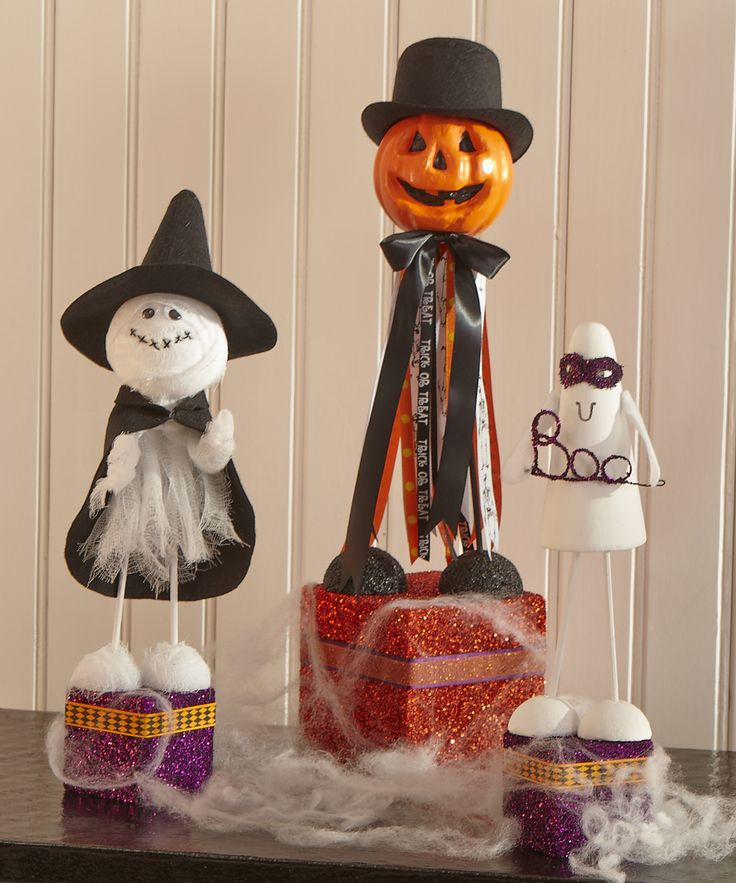 524 best Orange is for Halloween crafts and projects images on - halloween crafts decorations