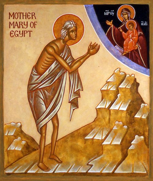 [April 1, 2014]   This telling of the life of St. Mary of Egypt (Feast day April 1) has been &...