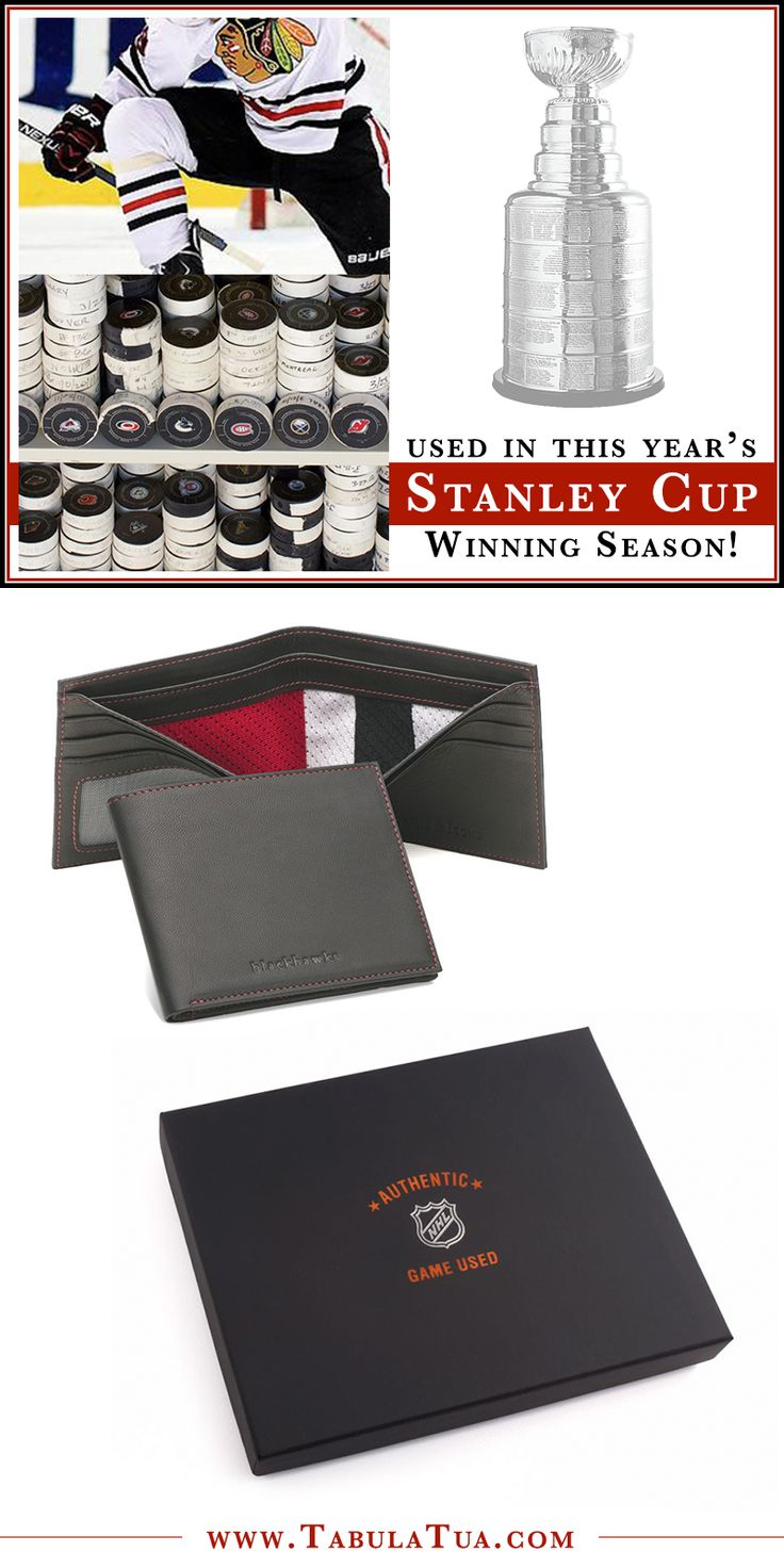 Chicago Blackhawks Game Used Uniform Wallet | This wallet features an authentic regular season game used Chicago Blackhawks jersey as the billfold divider. Each swatch is hand-cut and selected to feature at least 2 colors of the uniform. Having come right off the ice, swatches may have varying amounts of wear.