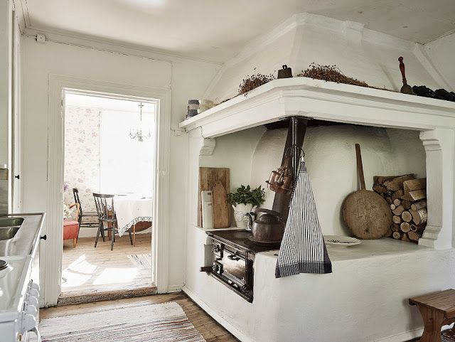 A Joyful Cottage: Living Large In Small Spaces - Sea Captain's Cottage in Sweden