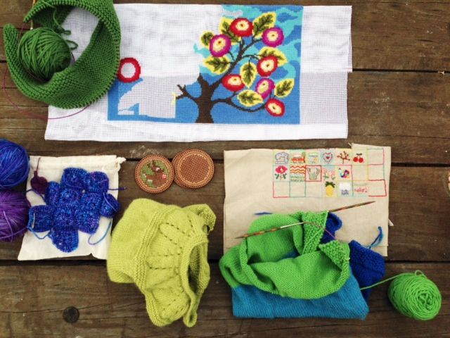 Great advice here. How to get all those crafty projects finished. Thanks http://www.onecraftymumma.com/