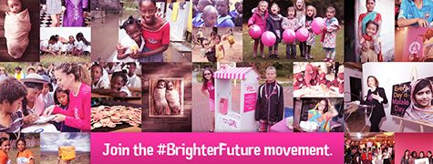Brighter Future image collage  OCT 11 ~ International Day of Girl