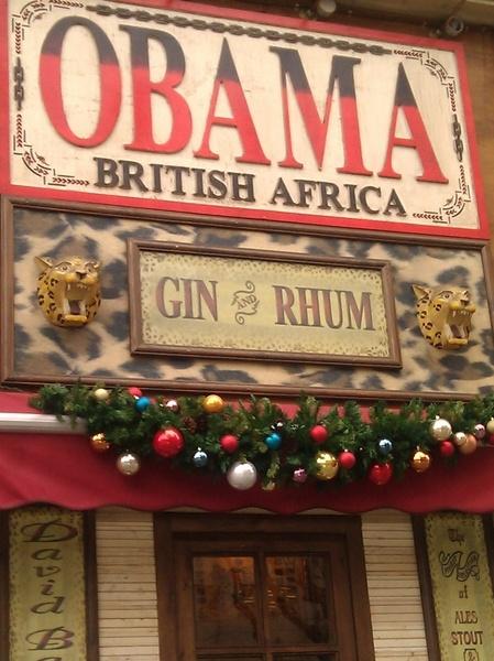 Bar Obama #Barcelona