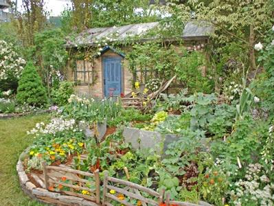 ピーターラビットの庭仕事@バラとガーデニングショウ