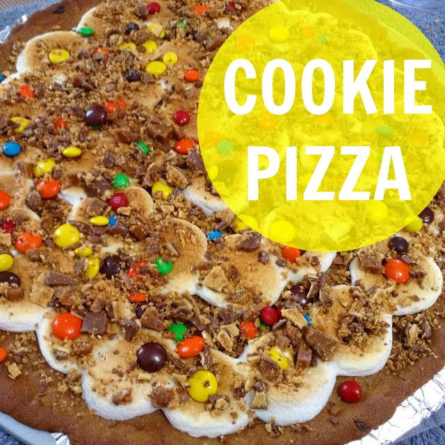 COOKIE PIZZA (Video Included) | What's Cooking Wednesday?
