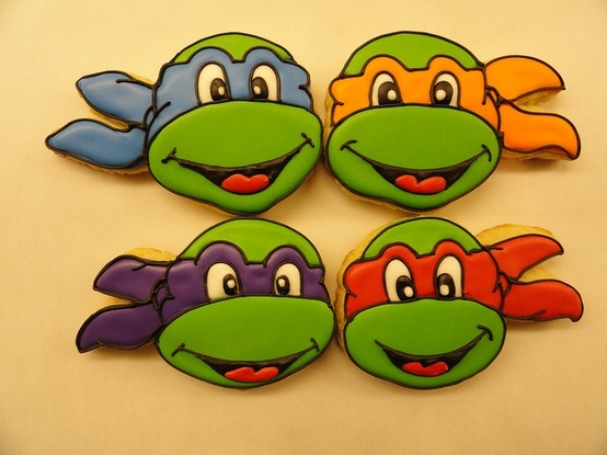 Image detail for -NINJA TURTLE COOKIES