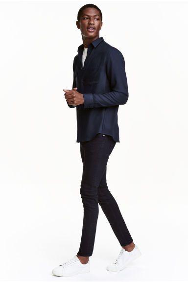 Skinny Low Jeans   H&M
