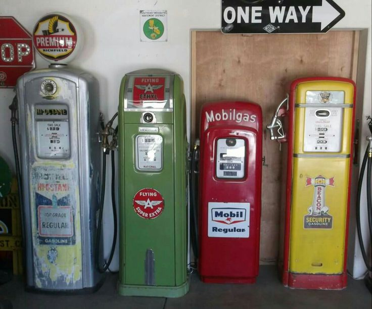 Original Gas Pumps Collection