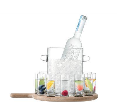 Paddle Vodka Serving Set