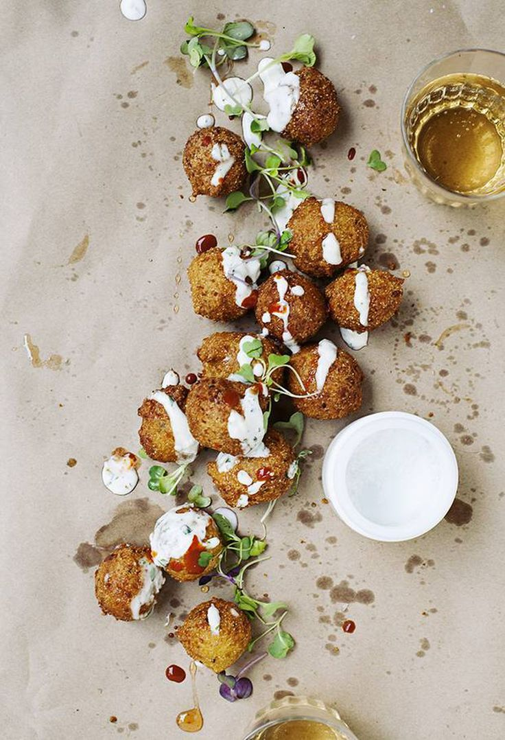 Capture the taste of summer fairs with these savoury corn and jalapeño bites