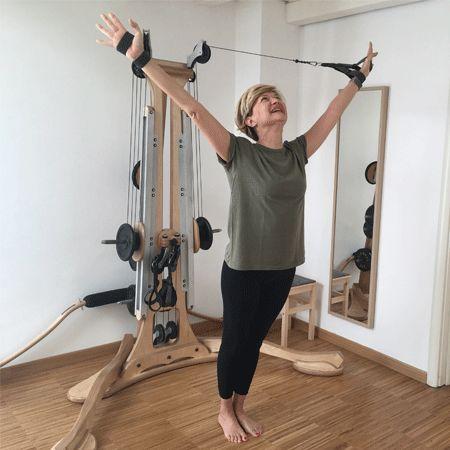 NO sciatica! Viva il GYROTONIC® un sistema intelligente che aiuta il corpo a ritrovare il suo equilibrio e la sua simmetria. Adatto a TUTTI.