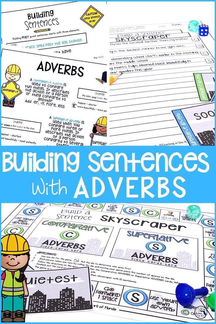 Building Sentences Comparative Superlative Adverbs Comparative And Superlative Adverbs Superlative Adverbs Improve Writing Skills [ 1103 x 736 Pixel ]