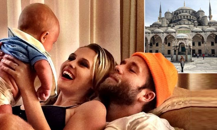 Teresa Palmer and husband Mark Webber shares gorgeous family snap with 3 month old son Bodhi
