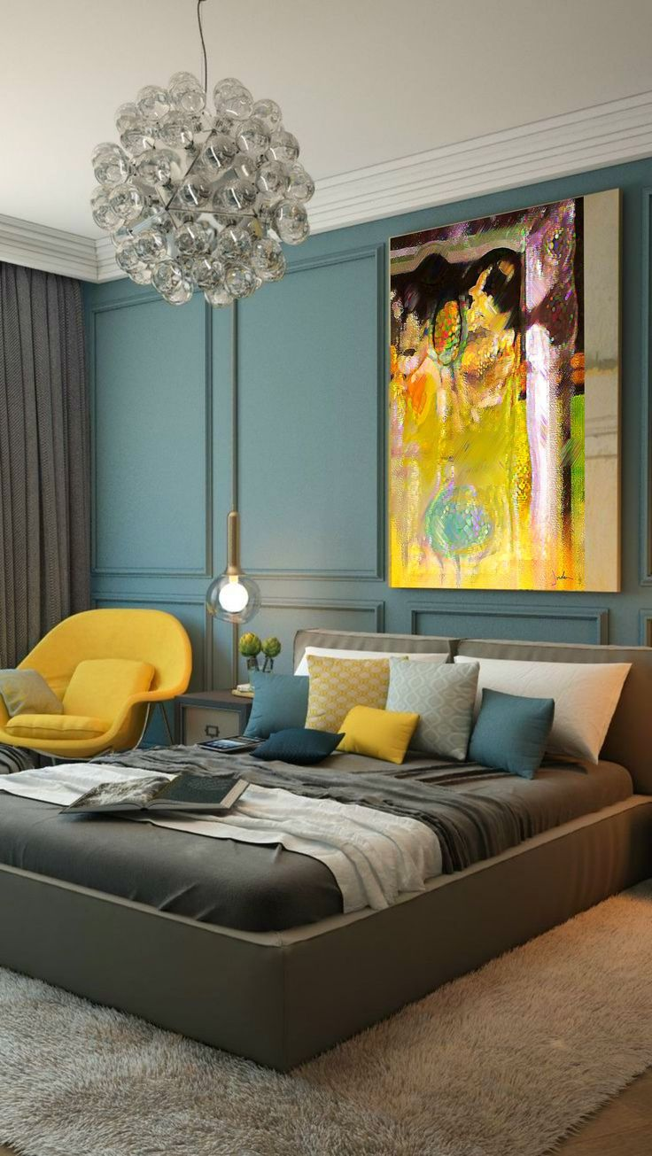 25 best ideas about modern bedrooms on pinterest modern 10886 | 764f3e1317fa862f1c28aac2531cf5d0 blue yellow bedrooms yellow grey and blue bedroom