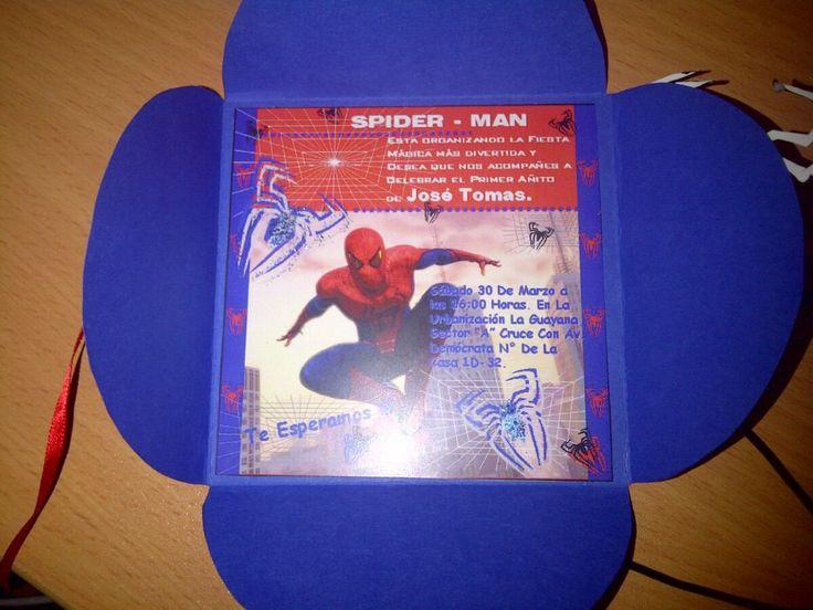 Tarjetas De Invitacion A Cumpleaños Spiderman Para Bajar Gratis 3 HD Wallpapers