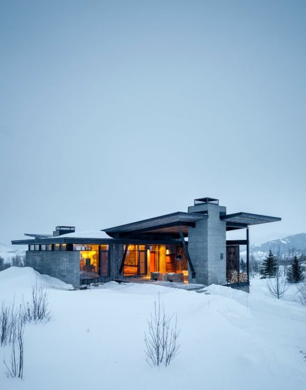 Mountain Landscapes: Spectacular Winter Property | IKEA Decoration