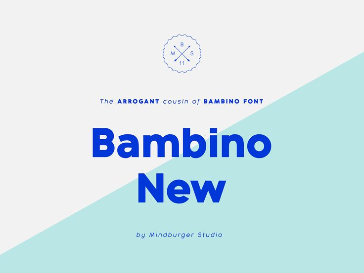 'Bambino New' font is a geometric sans serif with humanist readability. It comes in 7 different weights, 14 styles and plenty of OpenType features. It can be said it's an arrogant cousin of Bambino font, mostly because of it's legibility, personality and …