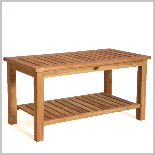 Coffee Table Teak Double Layers Made From A Grade Teak For Indoor And  Outdoor Use. BHome Teak Furniture Was Created To Provide Teak Patio  Furniture And ...